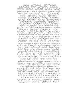Lagrangiana del Modelo Estandar de Física de Partículas
